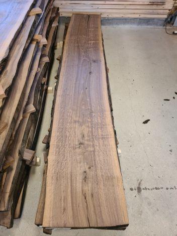 Amerikansk Valnød Planke 300 * 52/52/49 * 5,6 cm