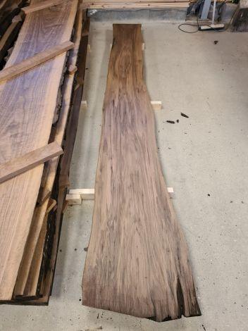 Amerikansk Valnød Planke 313 * 55/40/33 * 4,9 cm