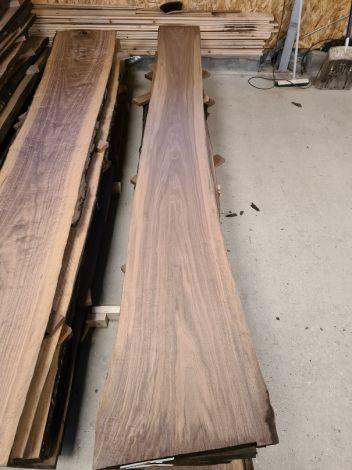 Amerikansk Valnød Planke 314 * 50/36/34 * 5 cm