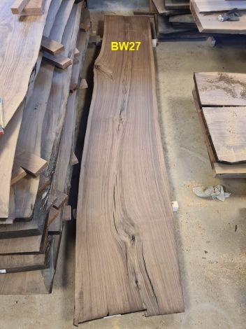 Amerikansk Valnød Planke 314 x 59/59/55 x 4.8 cm