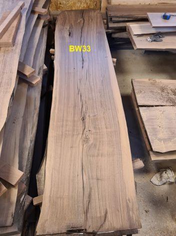 Amerikansk Valnød Planke 252 x 56/58/59 x 4.8 cm