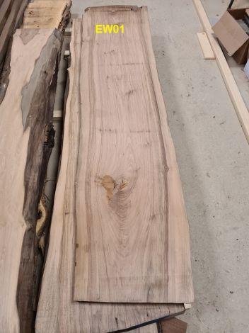 Europæisk Valnød Planke 254 * 60/57/53 * 5.5 cm