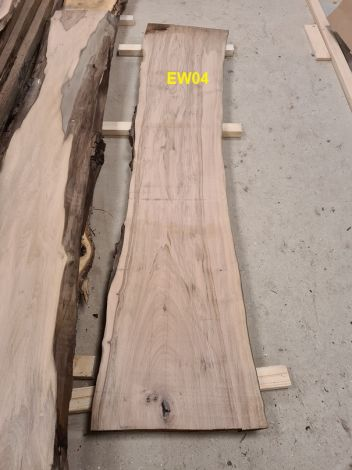 Europæisk Valnød Planke 250 * 56/45/60 * 5.5 cm