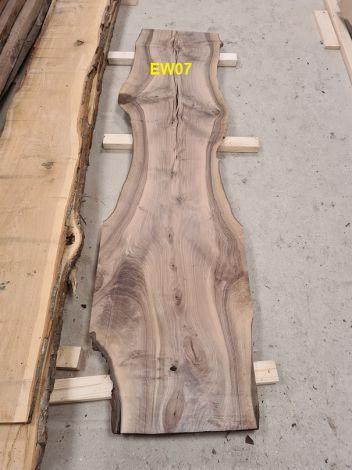 Europæisk Valnød Planke 221 * 52/41/60 * 3.4 cm