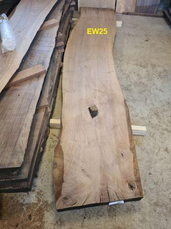 Europæisk Valnød Planke 290 * 52/54/53 * 6.0 cm