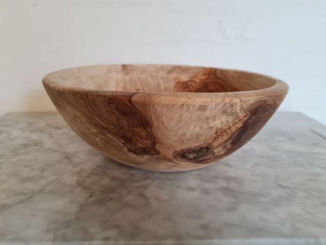 Frugt skål i Oliventræ - 30x30x11